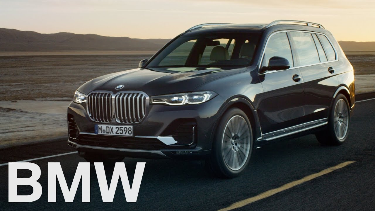 The First Ever Bmw X7 Official Launch Film Youtube