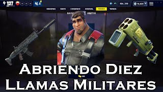 Opening Ten Military Flames in Fortnite Save The World #3