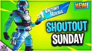 *NEW* CUSTOM GAMES HIDE & SEEK SHOUT OUT SUNDAY // MONSTER POLAR PEAK EVENT (Fortnite Battle Royale)