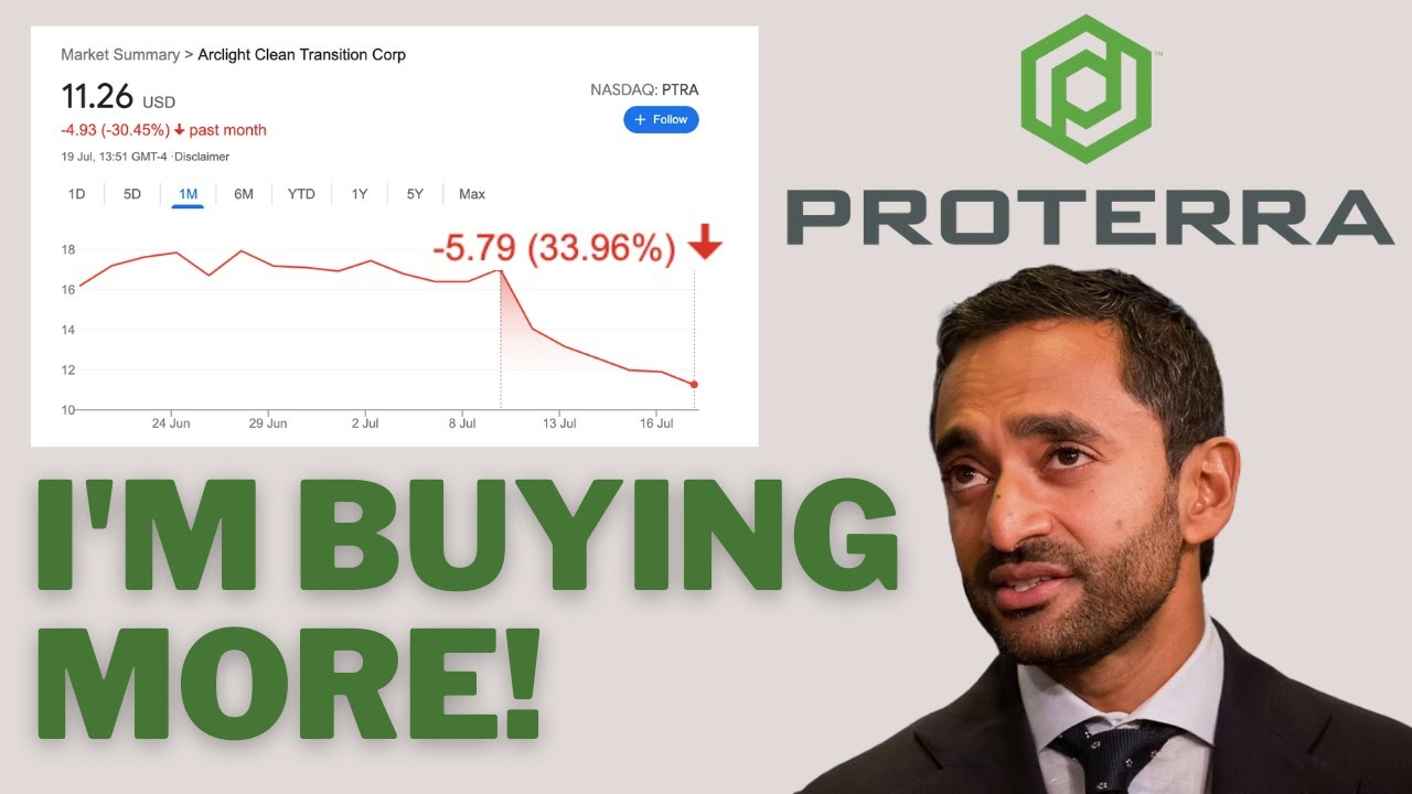 Download Why I'm Buying This Growth Stock After 30% Drop! - Proterra Stock (PTRA)