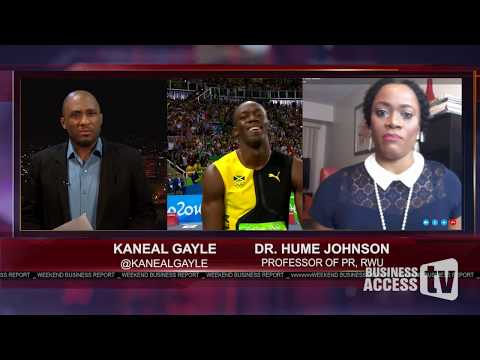 The Brand of Usain Bolt & Brand Jamaica | Hume Johnson