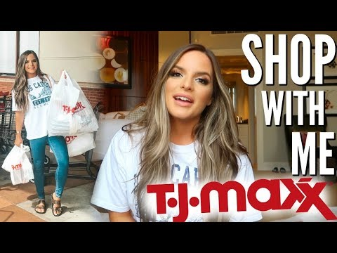 SHOP WITH ME AT TJMAXX! WHATS NEW FOR FALL?! HUGE HAUL! | Casey Holmes