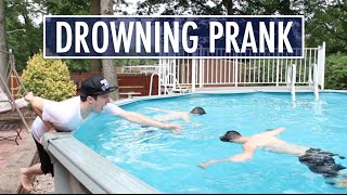 DROWNING PRANK ON BEST FRIEND