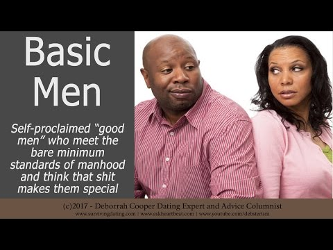 "Deborrah Cooper - Basic Men Think They Are ""Good"" for Doing Basic Shit"