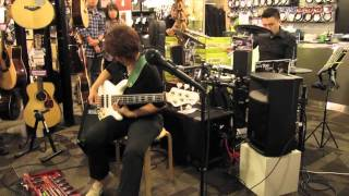 """Stormy Weather"" - Wendy Phua (BBNE bass/RC-50) & Chow Kiat (DTX700K drums)"