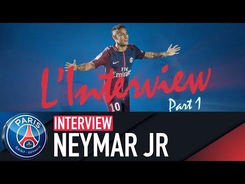 NEYMAR JR INTERVIEW PART 1 (BR & FRA)