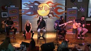 """Pop Evil """"Torn to Pieces"""" (acoustic) at Hard Rock Detroit with WRIF"""