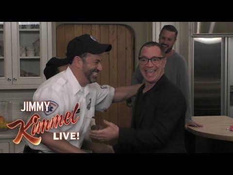 Jimmy Kimmel Pranks Scandal's Josh Malina