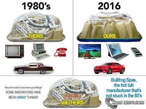 Bullfrog Spa Hot Tub Technology vs Other Brands