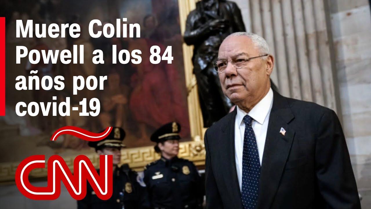 Muere Colin Powell, lder militar y primer secretario de Estado negro ...