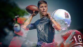Luke Mccaffrey Commits To Nebraska! ULTIMATE Four Star ATH Highlights!!