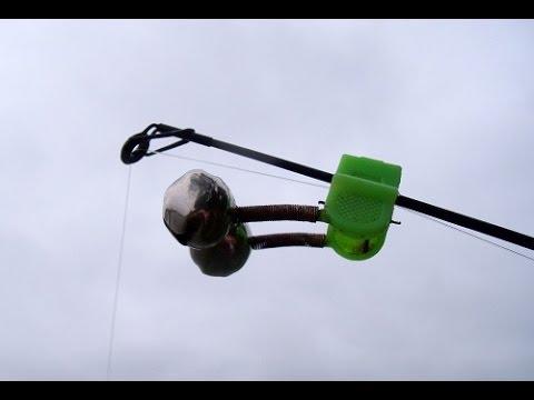 Система для крепления колокольчика на фидере - YouTube
