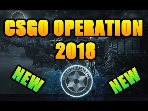 New CSGO Operation 2018  - update leaked