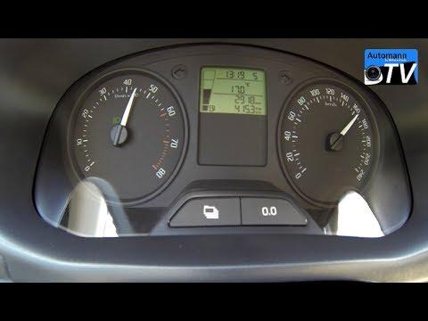 2014 Skoda Fabia Combi 1.2 (70hp) - 0-175 Km/h Acceleration (1080p)