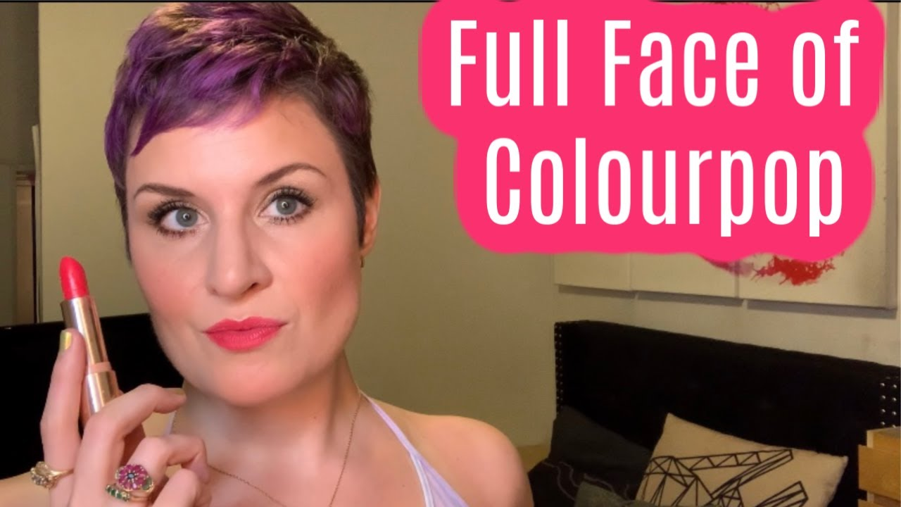 Full Face of Colourpop | Friday Happy Hour | Cate the Great Beauty