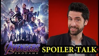 Avengers: Endgame has arrived, so let's delve deeper into the spoilers I couldn't talk about before. Here's my AVENGERS: ENDGAME - SPOILER TALK!