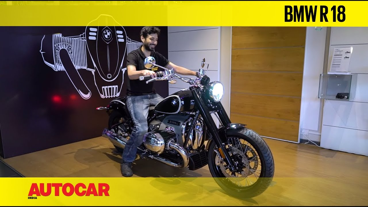 BMW R18 - The 1800cc work of art | First Look | Autocar India