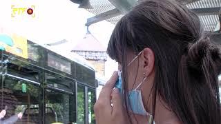 Maskenkontrolle in den Bussen des Reutlinger Stadtverkehrs