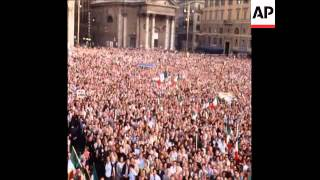 Synd 20-6-71 A Massive Neo-fascist Rally In Rome