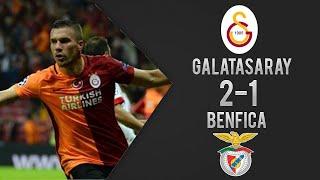 Galatasaray 2-1 Benfica Türkçe Spiker Maç Özeti Şampiyonlar Ligi (21/10/2015)