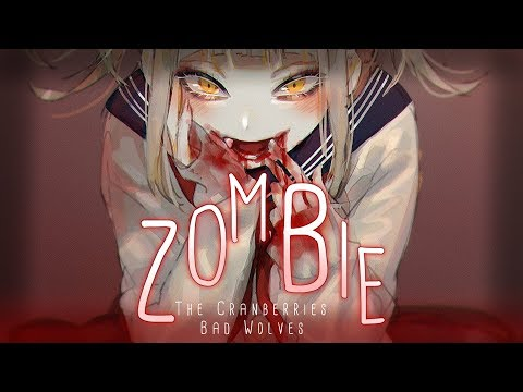 ◤Nightcore◢ ↬ Zombie [lyrics | BAD WOLVES COVER]