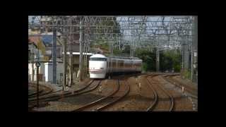 休日日中の東武スカイツリーライン西新井駅