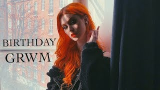 BIRTHDAY GRWM | Makeup, Outfit & Hair | Evelina Forsell