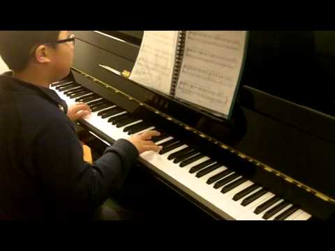 ABRSM Piano 2011-2012 Grade 2 C:3 C3 American Folk Down by the Riverside Original by SL