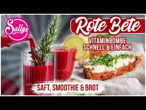 Smoothie - Vitamine satt - schnell & gesund / Sallys Welt #WirBleibenZuhause