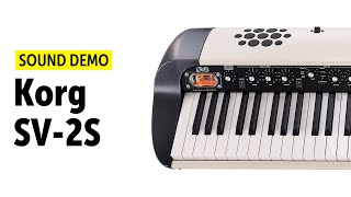 Korg SV-2S Sound Demo (no talking)