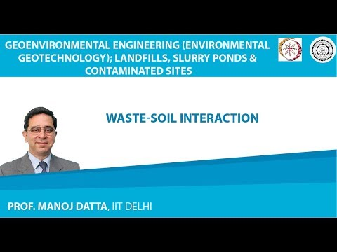 Waste-Soil Interaction
