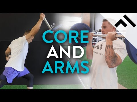 Active Recovery Day (CORE & ARM WORKOUT) | Trainer Series