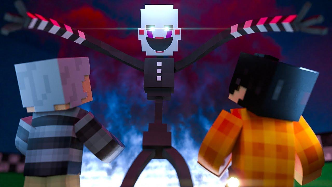 Minecraft: Five Nights at Freddy's 4 - A ORIGEM DA ANIMATRONIC PUPPET! #10