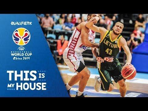 Croatia v Lithuania - Highlights - FIBA Basketball World Cup 2019 - European Qualifiers