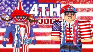 4TH OF JULY OUTFITS (ROBLOX)