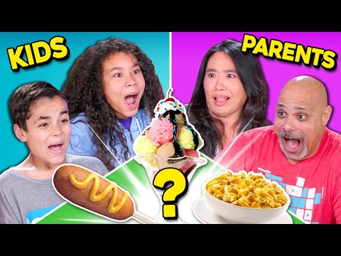 Can Parents Guess Their Kids' Cooking?