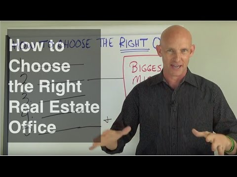 How to Choose the Right Real Estate Office - Kevin Ward