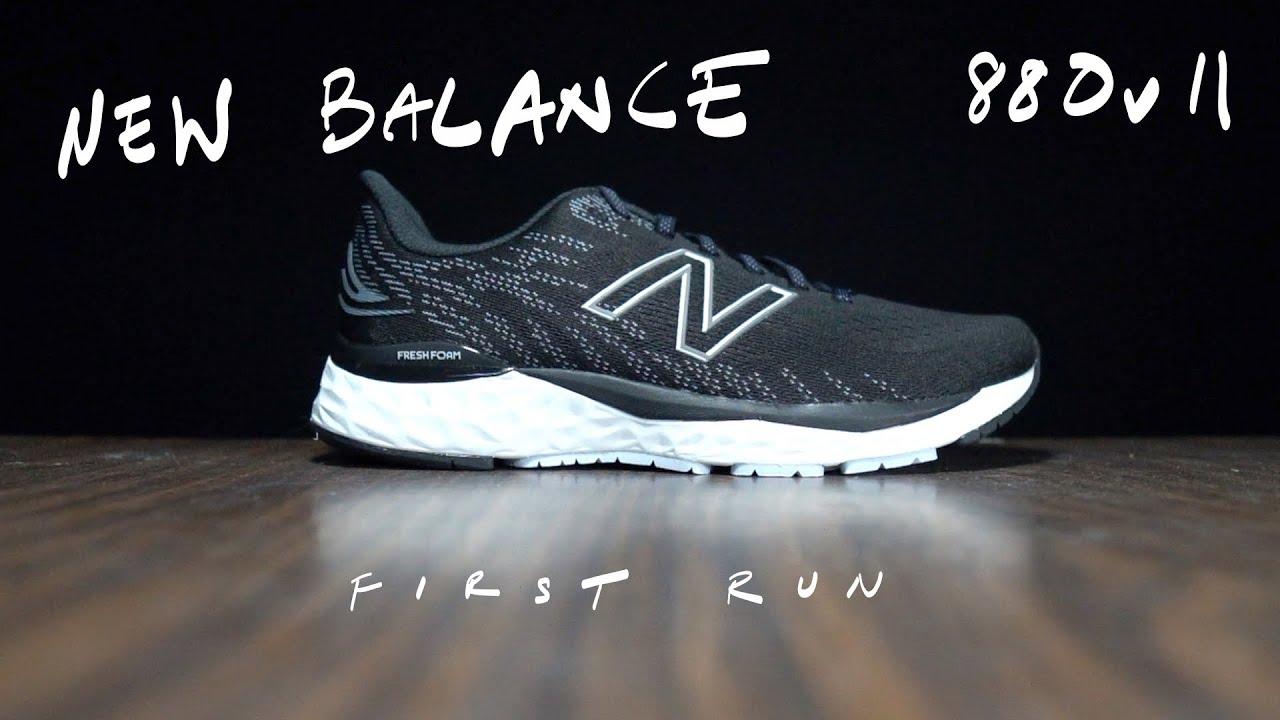 New Balance 880v11 - First Run