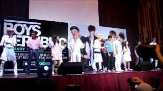 Dance With Fans You Are Special Boys Republic I M Ready Showcase In Malaysia 2013
