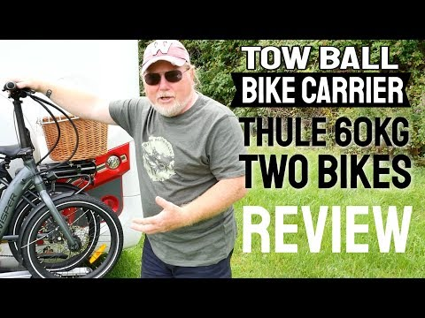 Motorhome Thule Two Bike Tow Ball Carrier 60KG Review