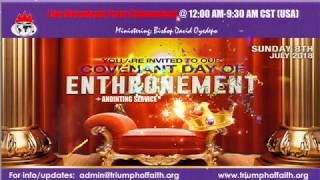 Bishop Oyedepo @Covenant Day of Enthronement, July 8, 2018 [4th Service]