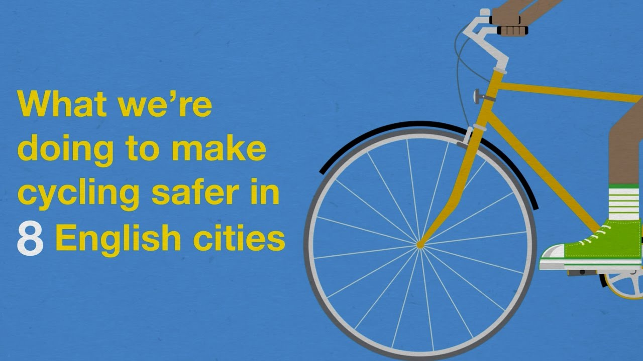 Government publishes £1 2 billion plan to increase cycling