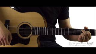 Where The Green Grass Grows - Guitar Lesson and Tutorial - Tim McGraw