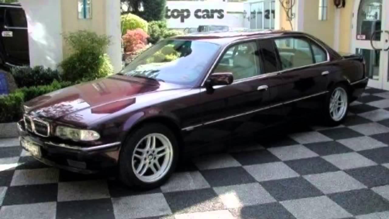 BMW E38 L7 Highline Individual - YouTube