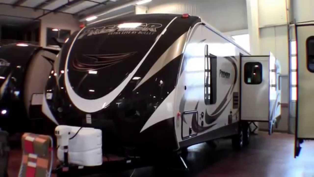 Ultra Light Travel Trailers >> 2014 Premier Ultra Lite 30RIPR Three Slide Rear Living ...