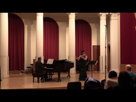 Student Recital: Phoebe Robertson, flute - March 17, 2019 [livestream]