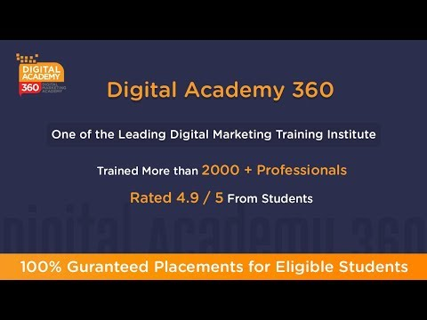 Digital Academy 360 - Digital Marketing Courses in Bangalore