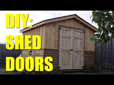 EASY BUILD! - Shed Doors!