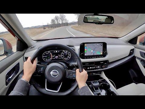 2021 Nissan Rogue SL FWD - POV Review