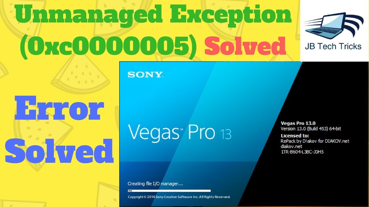 sony vegas pro 13.0 build 453 (x64) repack by d akov